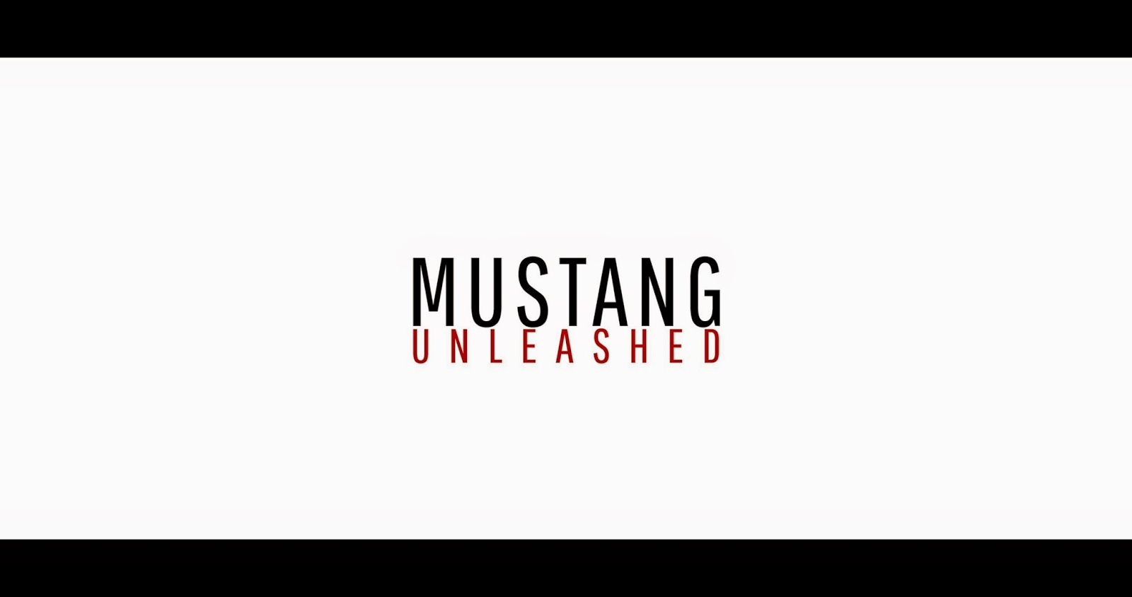 "Limited Edition ""Mustang Unleashed"" T-Shirt Line Revealed"