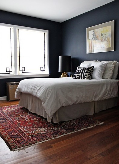 black bedroom from the nesting game