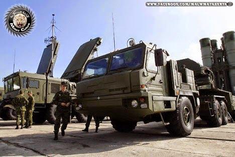نظام الدفاع الجوي بعيد المدي الروسي S-400 Triumf