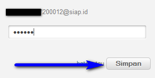 cara menambah atau mengganti email di padamu negeri