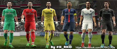 PES 2013 Paris Saint Germain 15/16 Full GDB by Hamza RKO