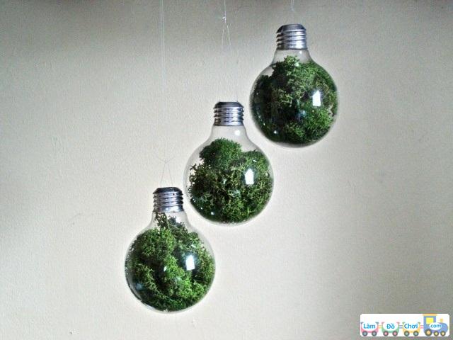 làm đồ handma từ bóng đèn