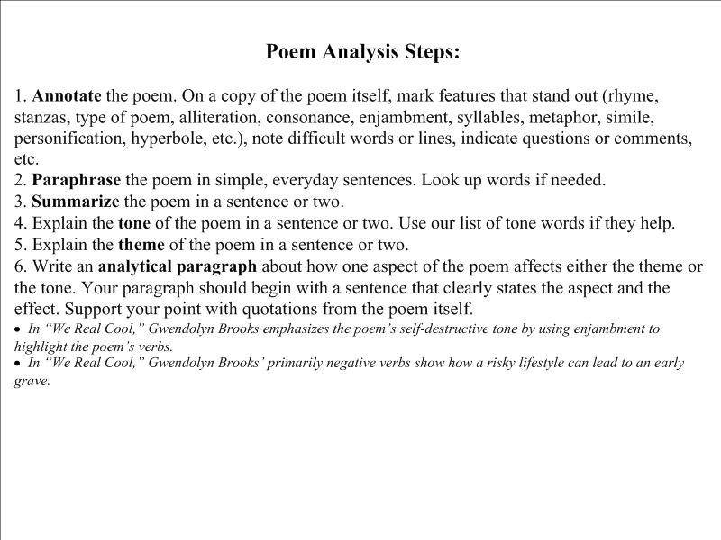 Ap literary analysis essay example