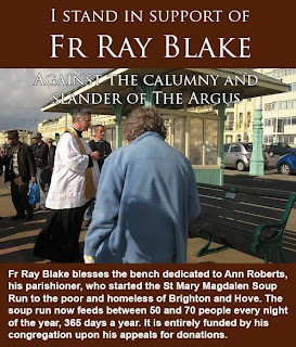 I stand in support of Fr Ray Blake