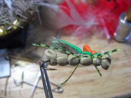 Minnesota driftless fly fishing how to foam hopper for Driftless fly fishing
