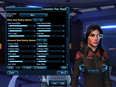 Star Trek Online - Customize Head Advanced