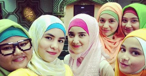 Lirik Lagu 'Proud Of You Moslem' Fatin Shidqia OST Sinetron 'Aisyah Putri The Series'