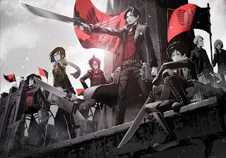 Attack on Titan Shingeki no Kyojin Anme Character Group Sword Blade HD Wallpaper Desktop PC Background