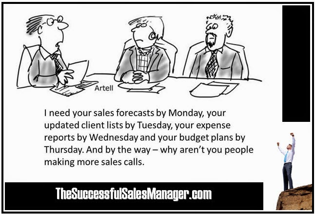 Sales manager forecasting
