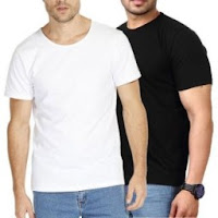 Henry Hudson Combo of Black & White Gym T-Shirt At Just Rs. 139 Via shopclues