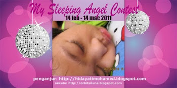 """My Sleeping Angel Contest"""