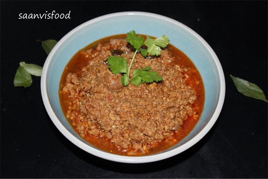 Mutton Kheema Curry