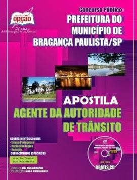 Apostila da Prefeitura do Município de Bragança Paulista/SP concurso 2014.