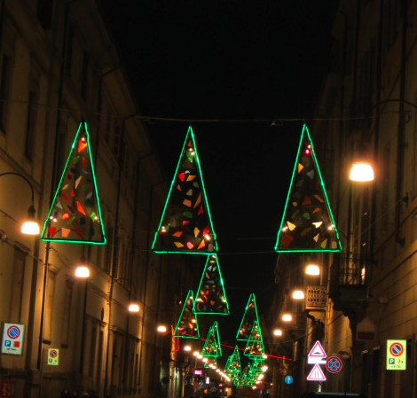 Alberi di Natale Torino