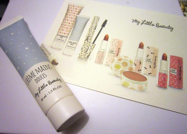 My little beauty box janvier 2013 creme main
