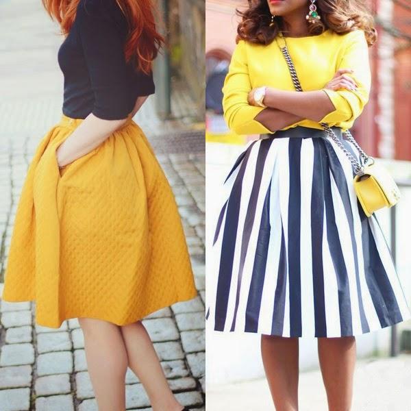 faldas para gorditas 2014