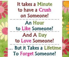 It Takes A Minute To Have A Crush On Someone!