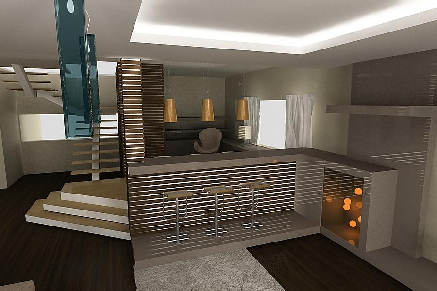 Design Interior Case Dinding Rumah Minimalis - Di Desain Rumah
