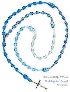Scrap Twine Rosary