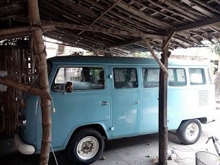 VW Kombi Biru Muda