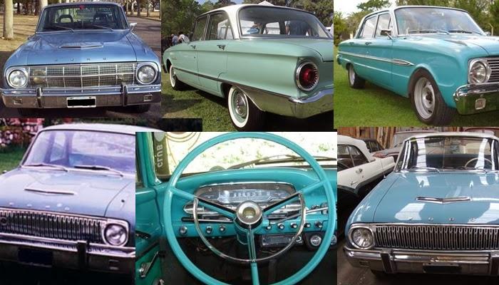 Ford Falcon Futura 1962/1964 - Modelo argentino
