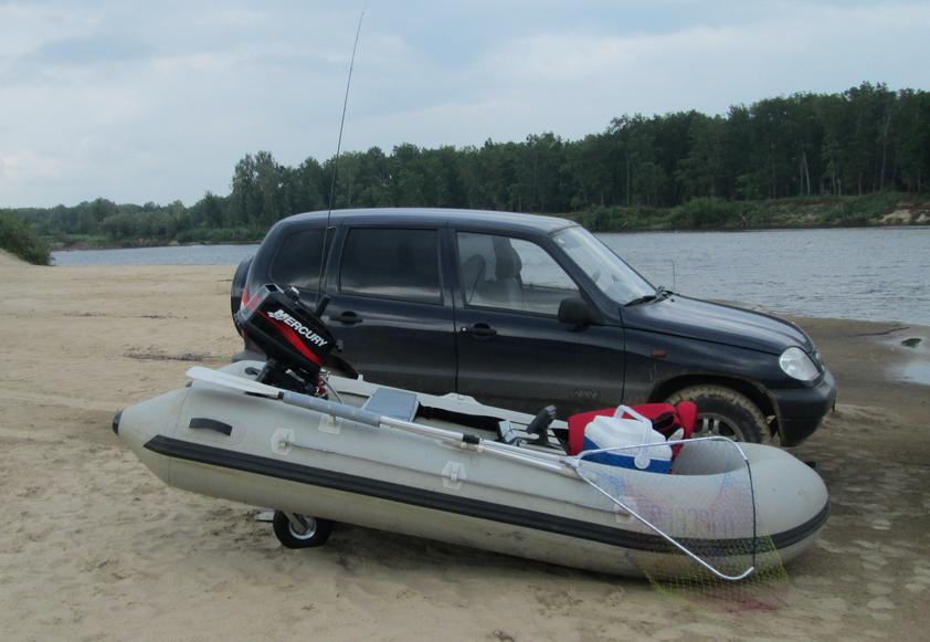 перевозка лодки пвх на багажнике авто