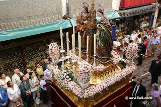 Corpus Christi Sevilla - Santas Justa y Rufina