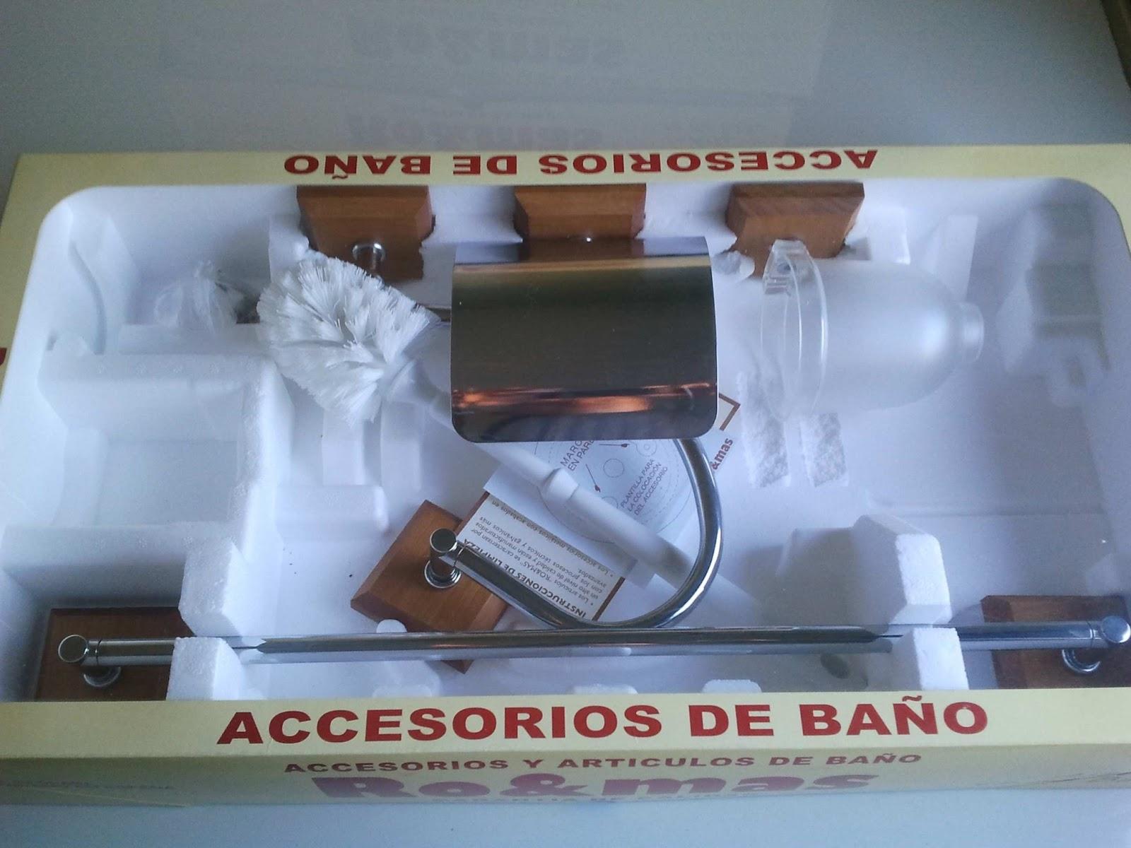 Accesorios De Baño En Wengue:accesorios de baño
