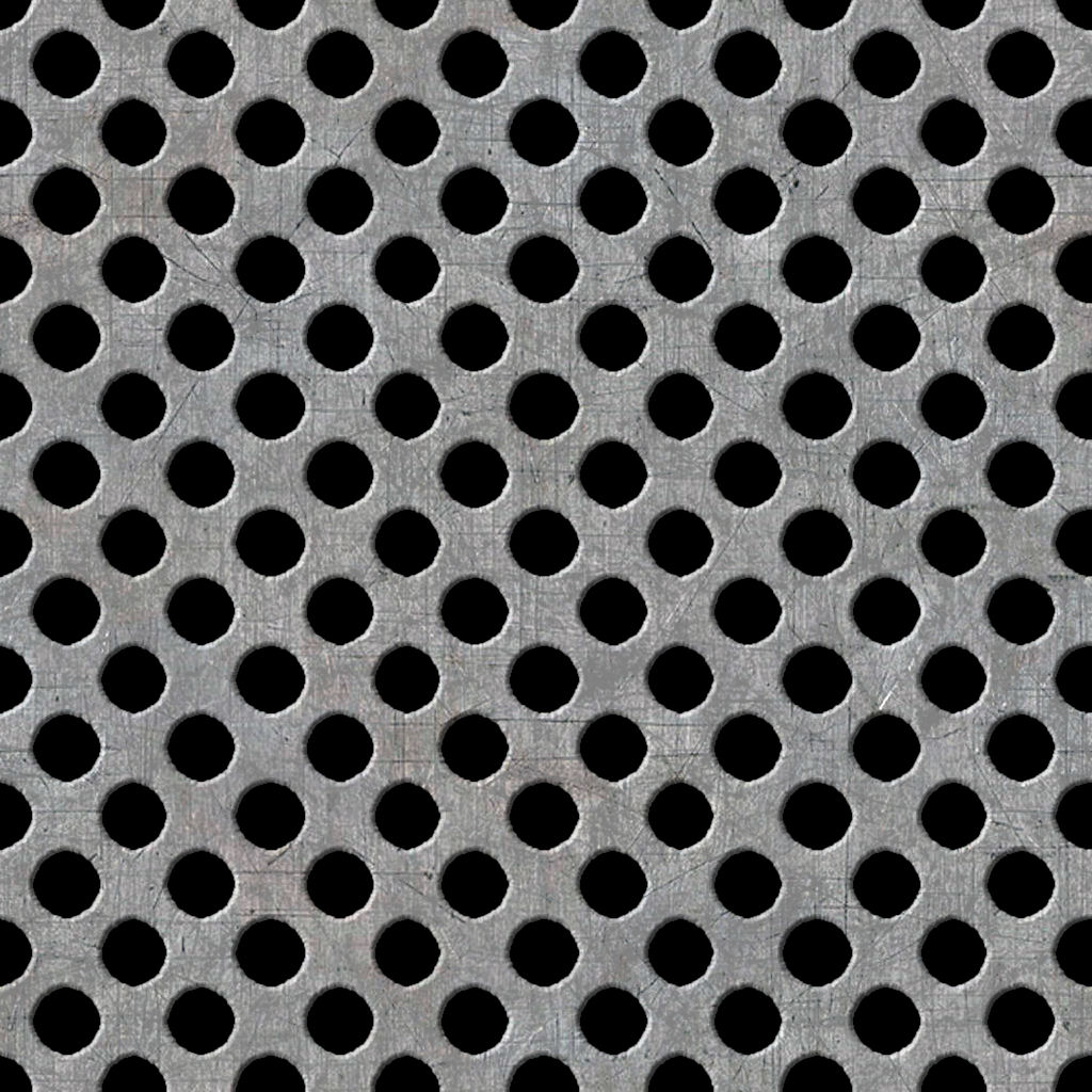 High Resolution Seamless Textures Metal Holes Plate Seamless