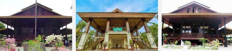 Desain Rumah Adat Aceh Jawa Gorontalo Bali