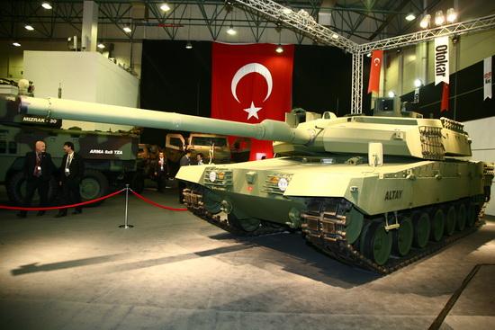 خيارات المملكة العربية السعودية لتجديد أسطول دباباتها Turkeys+National+Tank+Altay+MBT