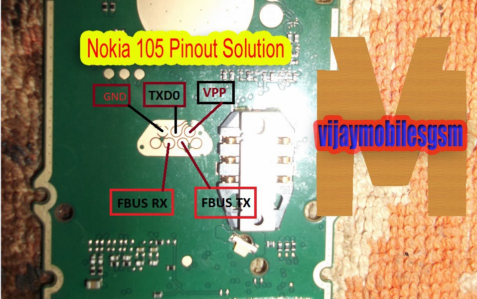 Nokia 105 display light final solution
