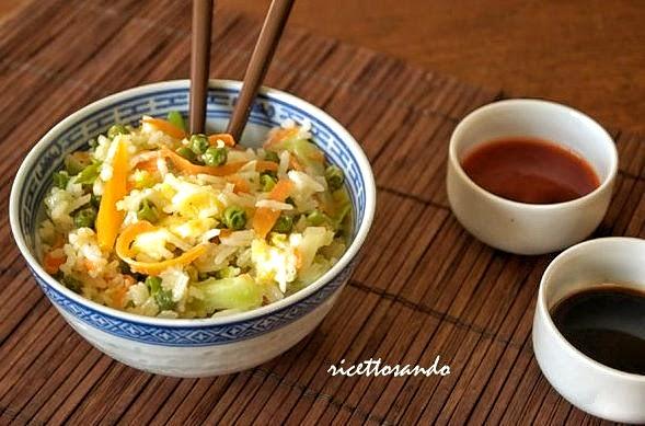 Riso saltato con verdura ricetta di riso basmati e verdure saltate