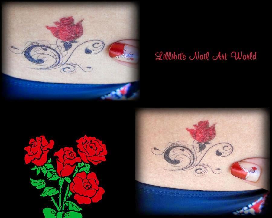 Imagenes De Tatuajes De Rosas Rojas - Tatuajes de rosas para mujeres