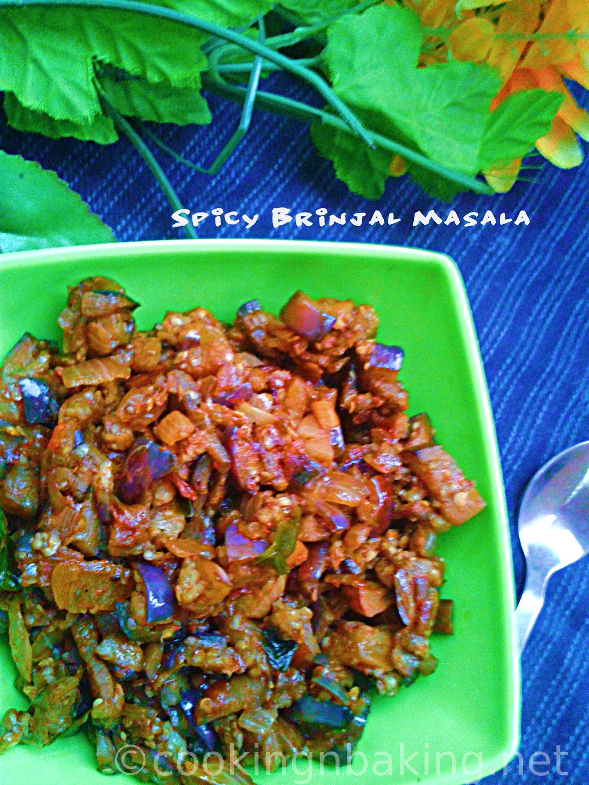 Spicy Brinjal Masala