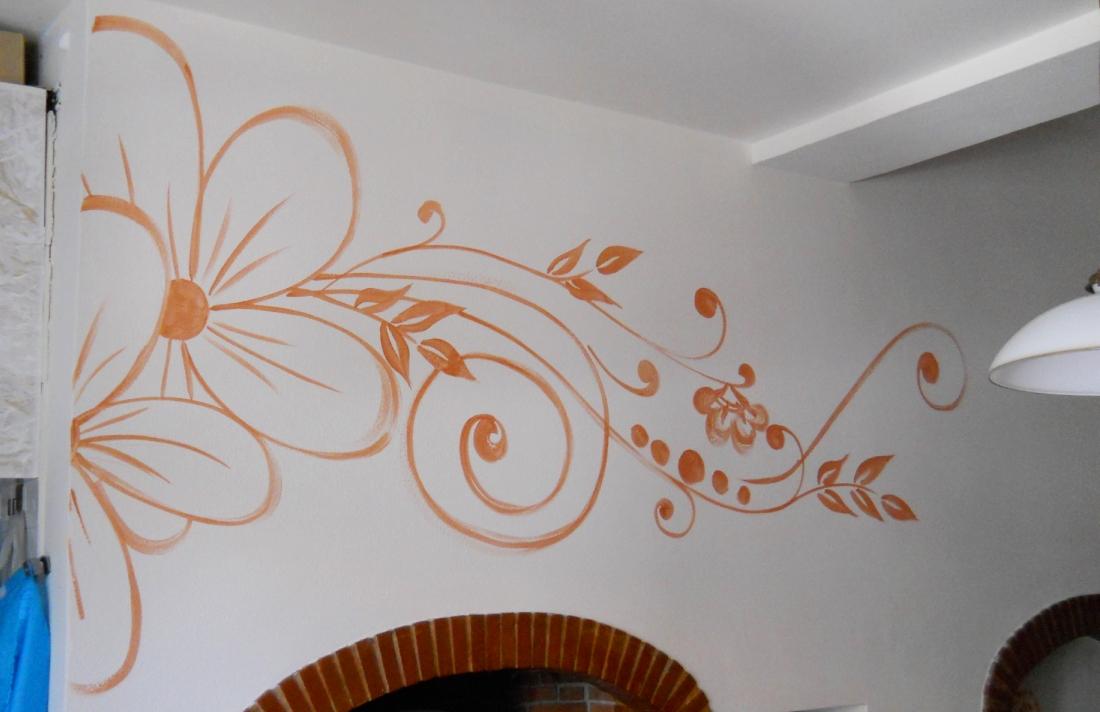 Disegni su pareti colori per dipingere sulla pelle for Decorazioni pareti cucina