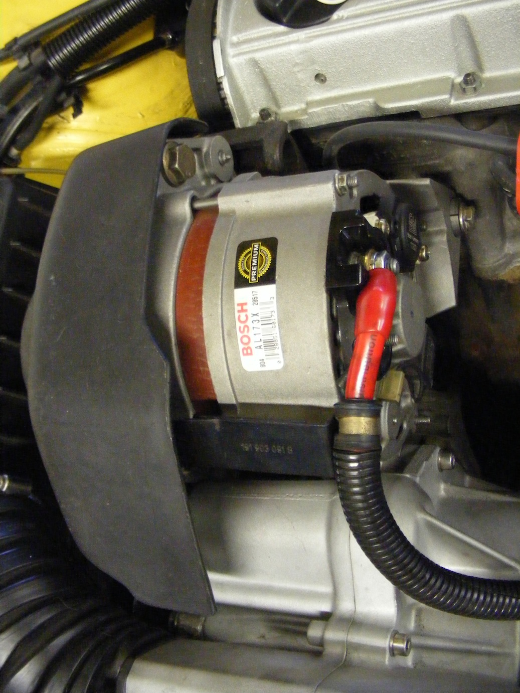 Overkill Wiring Alternator Wire The Endless Corrado G60 Project Understand How To Up 3