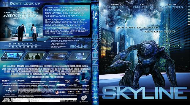 Capa Bluray Skyline