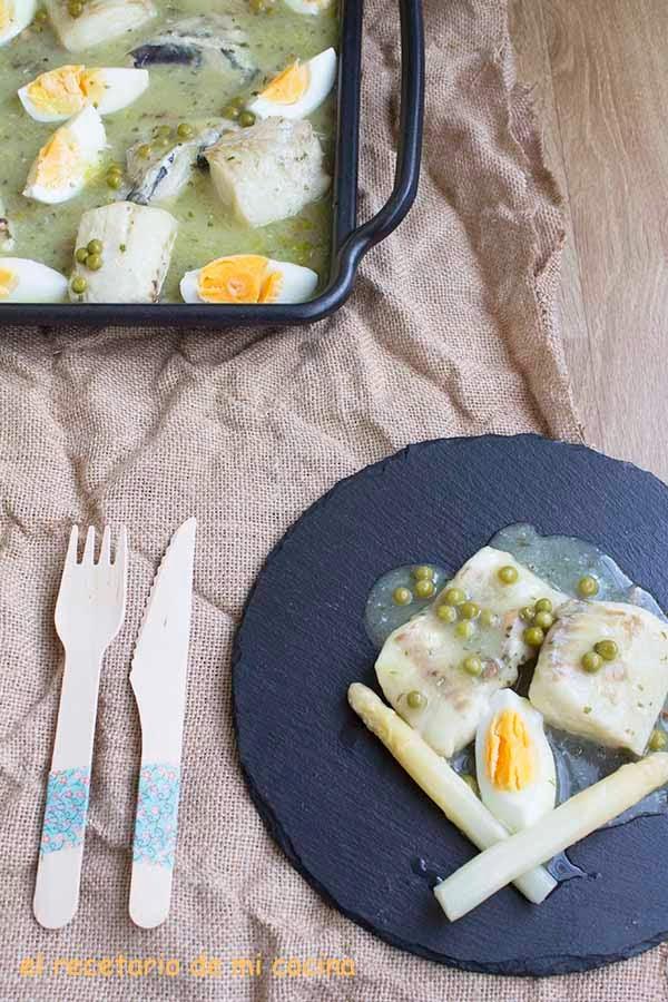 pescadilla en salsa verde fussion cook