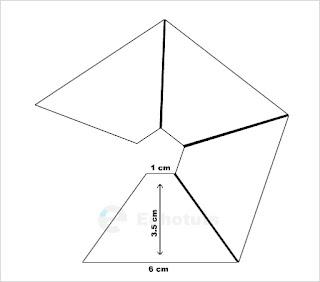 Trapesium untuk Proyektor 3d Pyramid Hologram Smartphone - echotuts