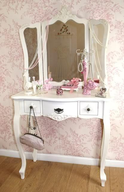 Shabby Chic Dressing Table | 415 x 640 · 51 kB · jpeg