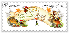 Top Three in Emerald Fairie Garden Challenge