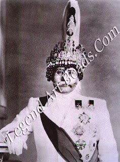 The bejeweled Prince of Nepal, photographed here in the early 1930s, was one of Van Cleef & Arpels' important clients from the East.