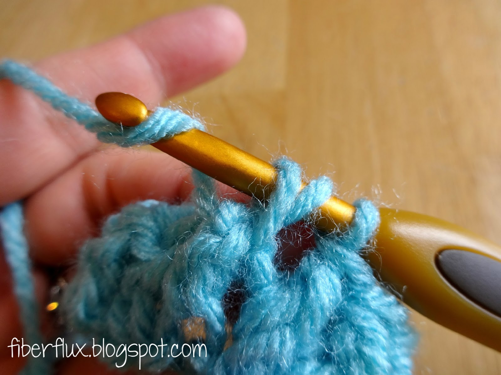 Crochet Fpdc : Fiber Flux: How to Work the Front Post Double Crochet Stitch (fpdc)