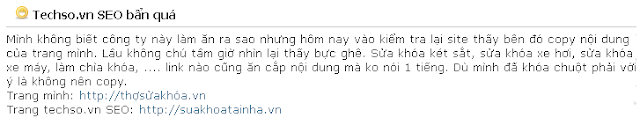 techso.vn an cap noi dung ban quyen tren web chinh chu