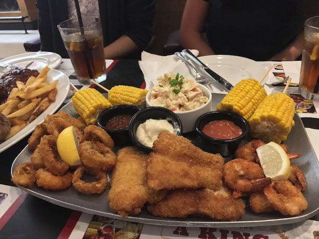 tony roma's ocean feast