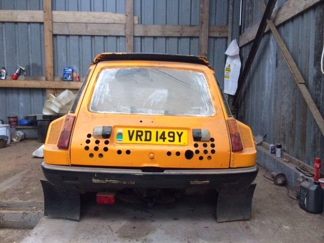 1983 Renault 5 Turbo Barn Find