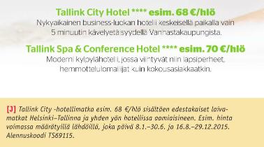 Cityshoppari, Tallinna, Tallinna tutuksi, TallinkSilja