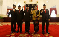 Pelantikan Pimpinan KPK di Istana Negara