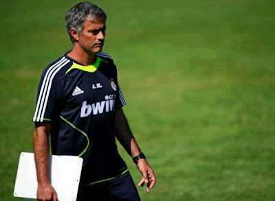 Mourinho in the Real Madrid pre-season 2011-2012